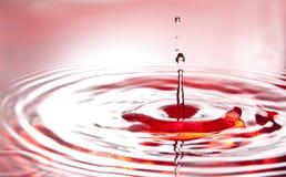 Red burning ripple Stock Photos