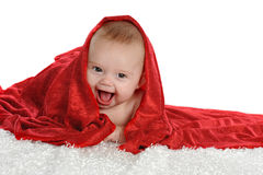 Red Burried Baby Royalty Free Stock Images