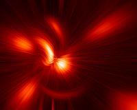 Red Burst. Abstract Red Burst Stock Photos
