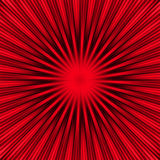 Red Burst Royalty Free Stock Photo