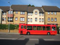 Red bus Stock Photography
