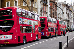 Red Bus Stock Image