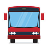 Red Bus. It can be used for a website, mobile application, presentation, corporate identity design, wherever you decide that you need is. Looks good everywhere Stock Images