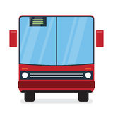 Red Bus. It can be used for a website, mobile application, presentation, corporate identity design, wherever you decide that you need is. Looks good everywhere royalty free illustration