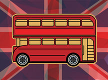 Red bus Stock Images