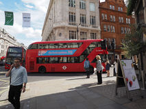 Red bus in London Stock Photography