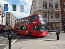 Red bus in London Stock Images