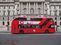 Red bus in London Stock Image