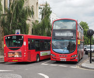 Red bus in London Royalty Free Stock Photo