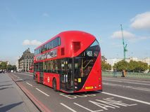 Red bus in London Royalty Free Stock Photography