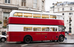 Red bus in London Stock Photos