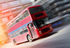 Red bus Royalty Free Stock Images