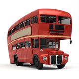 Red bus Route master Stock Image