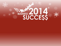 Red business card background for New Year. Red Business Happy New Year card background stock illustration