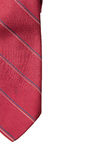 Red business neck tie Stock Photo