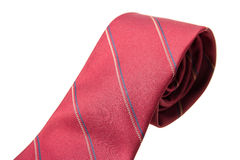 Red business neck tie Royalty Free Stock Images