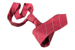 Red business neck tie Stock Photos