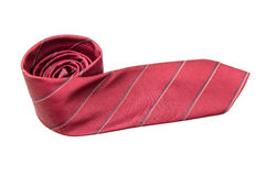 Red business neck tie Royalty Free Stock Photos