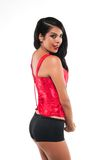 Red bustier Royalty Free Stock Photos