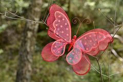 A red butterfly Royalty Free Stock Photography