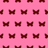 Red butterfly background Royalty Free Stock Photo