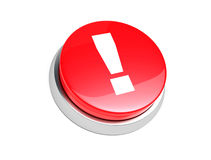 Red button. Stock Photo