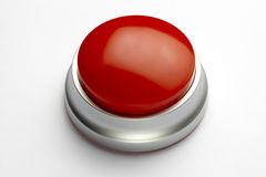 Free Red Button Stock Photography - 13869822