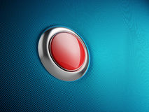 Red button. 3d rendered illustration Royalty Free Stock Photography