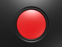 The red button Royalty Free Stock Images
