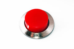 Red button stock image
