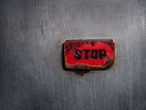 Red button Royalty Free Stock Photography