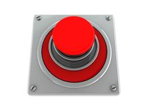 Red button Royalty Free Stock Image