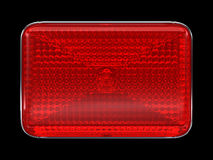 Red button or headlight Stock Images