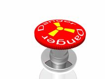 Red button with inscription Royalty Free Stock Images
