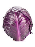Red cabbage. Isolated on white Royalty Free Stock Image