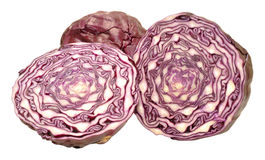 Red Cabbage Cut In Half Stock Photos