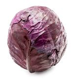Red Cabbage isolated Royalty Free Stock Images