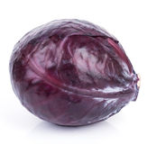 Red Cabbage Isolated Royalty Free Stock Image