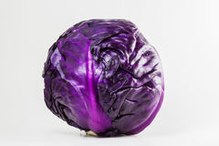 Red cabbage. Isolated on white Stock Images