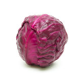 Red cabbage isolated on white background Royalty Free Stock Image