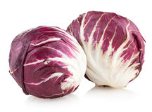 Red cabbage radicchio Royalty Free Stock Image