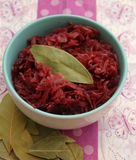 Red Cabbage. Some cooked red cabbage in a bowl Royalty Free Stock Photos