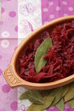 Red Cabbage. Some cooked red cabbage in a bowl Royalty Free Stock Image