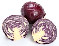 Red cabbage. Stock Photos