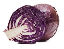 The red cabbage Stock Image