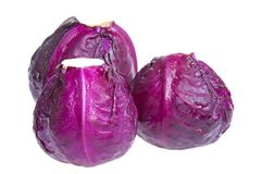 Red Cabbages Stock Photography
