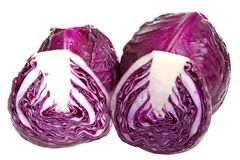 Red Cabbages Stock Photos