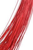 Red cable bunch Stock Photos
