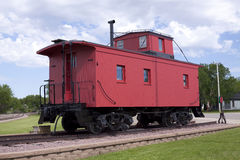 Free Red Caboose Stock Photography - 9752802
