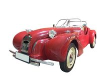 Red cabriolet Royalty Free Stock Image